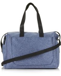 TOPSHOP - Scuba Luggage Bag - Lyst