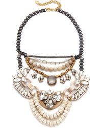 David Aubrey - Alynn Statement Necklace - Lyst
