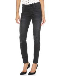 Rta High Waisted Jeans  - Lyst
