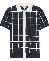Reiss Pacha Button Polo Shirt - Lyst
