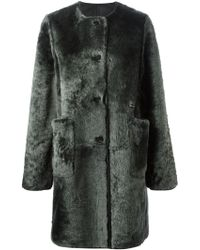 Marni Oversized Coat - Lyst