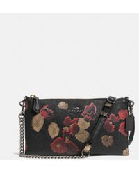 Coach Kylie Crossbody in Floral Print Leather - Lyst