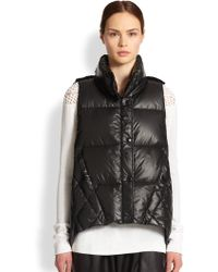 Tess Giberson - Knit Quilted Down Vest - Lyst