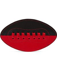 Tommy Hilfiger - Leather American Football Badge - For Women - Lyst