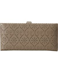 Lodis Yountville Andra Clutch Wallet - Brown