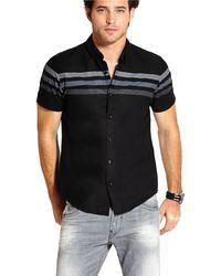Guess Laguna Stripe Sport Shirt - Lyst