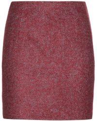 Acne Studios Kyte Twill Wool Blend Skirt - Lyst