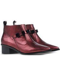 Kat Maconie Ankle Boots purple - Lyst