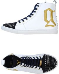 John Galliano High Tops  Trainers - Lyst