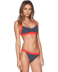 Marc By Marc Jacobs Cut Out Bikini Top - Lyst