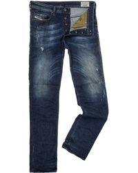Diesel Buster 833f Slim Leg Taper Jeans - Lyst