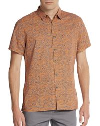 Life After Denim That 70S Printed Cotton Sportshirt - Lyst