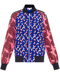 Stella McCartney Lorinda Blossom-print Bomber Jacket - Lyst