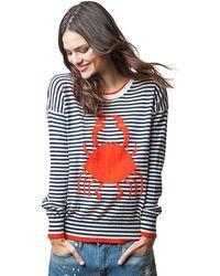525 America - Crab Stripe Intarsia - Lyst