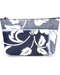 Luisa Cevese Riedizioni - Hibiscus Print Make-Up Bag - Lyst