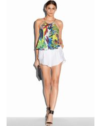Milly Petal Shorts multicolor - Lyst