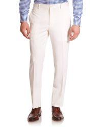 Polo Ralph Lauren Custom Fit Wool Trouser - Lyst