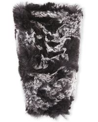 C-lective - Rabbit Fur Headband - Lyst