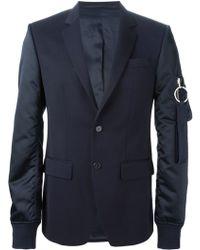 Givenchy Bomber Sleeves Blazer - Lyst
