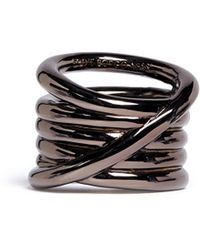 Eddie Borgo Slip Knot Ring - Metallic