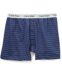 Calvin Klein Knit Slim Fit Boxers - Lyst