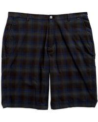 Calvin Klein Plaid Shorts - Lyst