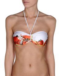 Just Cavalli Bikini Top - Lyst