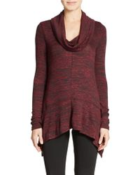 DKNY Cowl Neck Sweater - Lyst