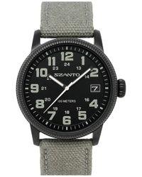 Szanto - Canvas Strap Watch - Lyst