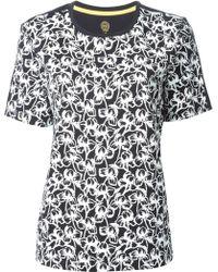 Tory Burch Floral Print T-Shirt - Lyst