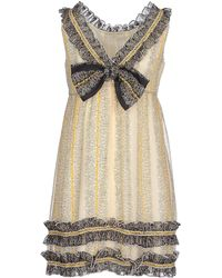 Anna Sui | Short Dress | Lyst