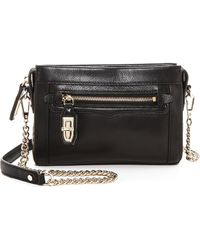 Rebecca Minkoff Mini Crosby Cross Body Bag - Black - Lyst