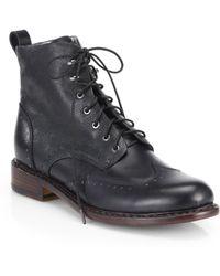 Rag & Bone Cozen Brogue Ankle Boots 2014 newest online SNTUJuvPsm
