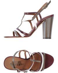 Michel Vivien High-Heeled Sandals - Lyst