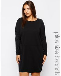 Carmakoma - Long Sleeve Dress - Lyst