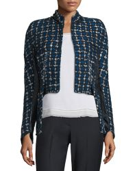 Haider Ackermann   Asymmetric Tweed Jacket   Lyst