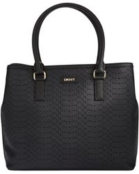 DKNY Perforated Tote Bag - Lyst
