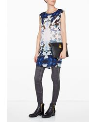 2nd Day Geoma Silk Printed Dress - Lyst