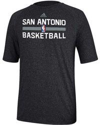 Adidas Mens San Antonio Spurs Climalite Practice T-shirt - Lyst