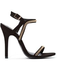 Nasty Gal Shoe Cult Chain Reaction Heel - Lyst