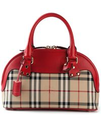 Burberry Small 'Bloomsbury' Bowling Bag - Lyst