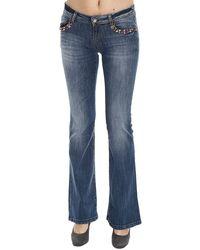 Manila Grace Jeans Denim Flair blue - Lyst
