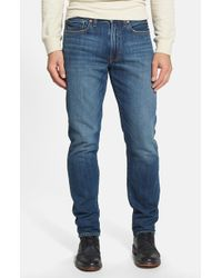 Lucky Brand '121 Heritage' Slim Fit Jeans - Lyst