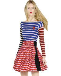 Sonia By Sonia Rykiel Striped Cotton Tshirt - Lyst