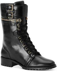 Calvin Klein Ramira Moto Boots - Lyst