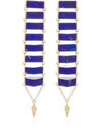 Karma El Khalil - Gold Ladder Earrings - Lyst