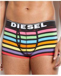 DIESEL - Fresh Bright Divine Stripe Trunk - Lyst
