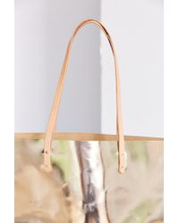 Cold Picnic - Metallic Leather Tote Bag - Lyst