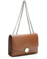 Marc Jacobs Trouble Leather Shoulder Bag In Brown - Lyst