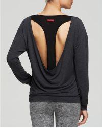 Hard Tail - Open T-Back Long Sleeve Jumper - Lyst